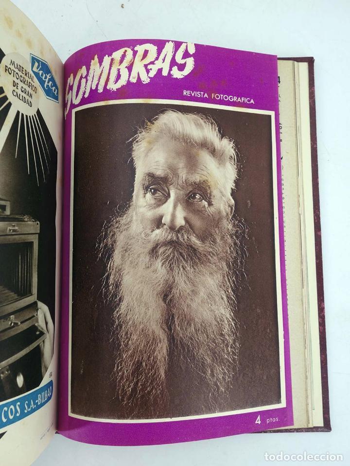 Cómics: SOMBRAS. REVISTA FOTOGRÁFICA NºS 13 A 24 ENCUADERNADOS EN UN TOMO. BUEN ESTADO, 1945 - Foto 15 - 97781452
