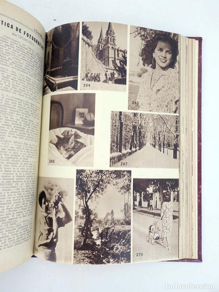 Cómics: SOMBRAS. REVISTA FOTOGRÁFICA NºS 13 A 24 ENCUADERNADOS EN UN TOMO. BUEN ESTADO, 1945 - Foto 20 - 97781452