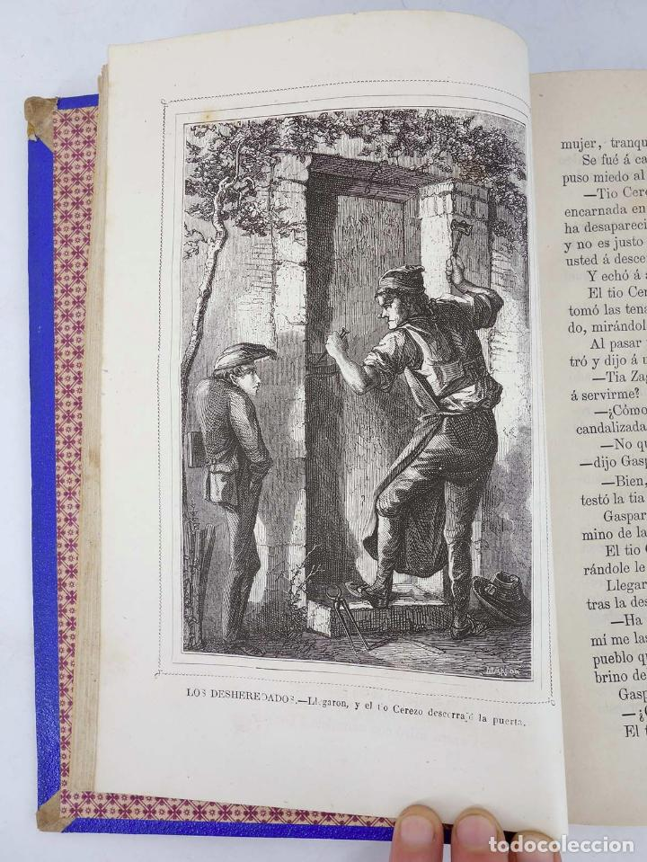 Cómics: LOS DESHEREDADOS. DESVENTURAS DE LA VIDA COMPLETA EN DOS TOMOS. 1240 págs (Manuel Fernández y Gonzál - Foto 4 - 97781544