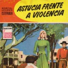 Comics: COLECCIÓN KANSAS. AUTOR: M.L. ESTEFANÍA. AÑO 1960. NÚMERO 129: ASTUCIA FRENTE A VIOLENCIA. Lote 97835427