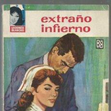 Cómics: EXTRAÑO INFIERNO, CELIA BRAVO (LUCILA MATAIX), COL. LEGIONES BLANCAS, Nº 31 ED. BRUGUERA, 1964 1ª ED. Lote 98148415