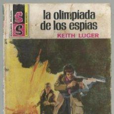 Cómics: LA OLIMPÍADA DE LOS ESPÍAS, KEITH LUGER. COL. SERVICIO SECRETO, Nº 1306. EDITORIAL BRUGUERA, 1975. Lote 98682451