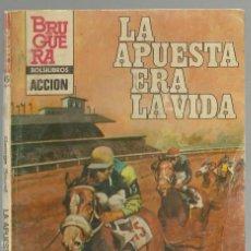 Cómics: LA APUESTA ERA LA VIDA, GEORGE SOUND. ACCION. COL. DOBLE JUEGO, Nº 45. ED. BRUGUERA,1983 1ª ED.. Lote 98685191