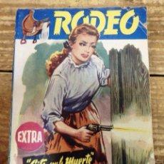 Cómics: RODEO - EDITORIAL CIES 1ª EDICION - Nº 124 EXTRA - CITA CON LA MUERTE. Lote 98799383