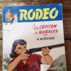 Cómics: COLECCION RODEO,Nº 57, UN CAPITAN DE RURALES N. MIRANDA, EDITORIAL CIES, VIGO, AÑOS 40. Lote 98802155