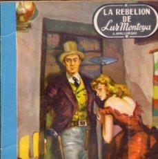 Cómics: COLECCIÓN DOS HOMBRES BUENOS. AUTOR: J. MALLORQUÍ. NÚMERO 39: LA REBELIÓN DE LUZ MONTOYA. Lote 100140143