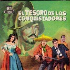 Cómics: COLECCIÓN DOS HOMBRES BUENOS. J. MALLORQUÍ. Nº 77: EL TESORO DE LOS CONQUISTADORES. BUEN ESTADO. Lote 100164891