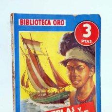 Cómics: BIBLIOTECA ORO AZUL 188. PERLAS Y SANGRE (A. REVET FOSCH / LOZANO OLIVERES) MOLINO, 1945. Lote 295779013