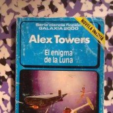 Cómics: EL ENIGMA DE LA LUNA - ALEX TOWERS - GALAXIA 2000 Nº 20 . Lote 100583123