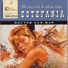 Cómics: COLECCIÓN FRONTERA DEL OESTE. AUTOR: M.L. ESTEFANÍA. Nº 13: DOCTOR GUN-MAN. PERFECTO ESTADO. Lote 101314427