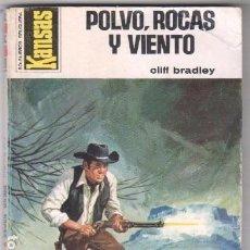 Cómics: KANSAS Nº 970 - CLIFF BRADLEY - POLVO,ROCAS Y VIENTO. Lote 101575415