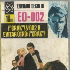 Cómics: ¡'CRAK'!, I 002 A EVITAR OTRO:¡'CRAK'!, FRANK CAUDETT.ENVIADO SECRETO EO-002 Nº 105 ED.BRUGUERA,1969. Lote 101775195