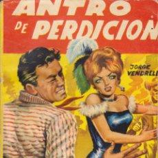 Cómics: COLECCIÓN SALVAJE OESTE. AUTOR: JORGE VENDRELL. NÚMERO 50: ANTRO DE PERDICIÓN. BUEN ESTADO. Lote 101936499