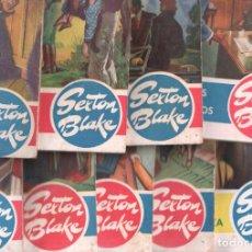 Cómics: SEXTON BLAKE , PRECIO FIESTAS NAVIDAD - LOTE NºS - 4,7,8,10,11,12,13,15,16 EDITORIAL HYMSA AÑOS 40. Lote 102010059