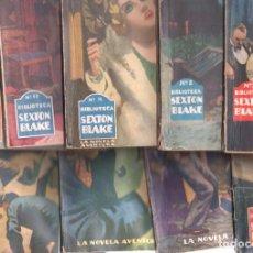 Cómics: BIBLIOTECA SEXTON BLAKE LOTE 14 NºS - 2,3,12,15,25,27,28,29,30,32,33,Y 3 MÁS - 1937 HYMSA. Lote 102010947
