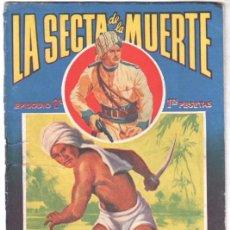 Cómics: LA SECTA DE LA MUERTE , EPISODIO Nº 2 - POR FIDEL PRADO - 1945 BRUGUERA. Lote 102076095