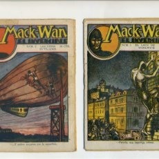 Cómics: MACK-WAN EL INVENCIBLE. 20 EJEMPLARES. COMPLETA. EDICIONES MARCO. CANELLAS CASALS-MARC FARELL. Lote 103953463