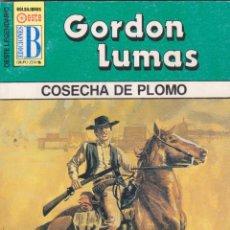 Cómics: COLECCIÓN OESTE LEGENDARIO. AUTOR: GORDON LUMAS. Nº 230: COSECHA DE PLOMO. PERFECTO ESTADO. Lote 103974339
