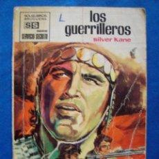 Cómics: LOS GUERRILLEROS SILVER KANE BOLSILIBROS SERVICIO SECRETO Nº 1051 BRUGUERA. Lote 104013291
