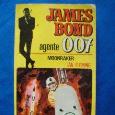 Cómics: MOONRAKER IAN FLEMING BOLSILIBROS JAMES BOND AGENTE 007 Nº 2 BRUGUERA. Lote 104022763