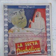 Cómics: EDICIONES MAGERIT Nº 4 - SERIE FANTÁSTICA - LA SECTA DIABOLICA - JEAN PETITHUGUENIN - 1943. Lote 104234063