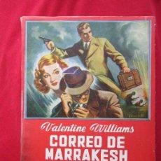 Cómics: CORREO DE MARRAKESH VALENTINE WILLIAMS. LAS NOVELAS DE LA PALMA Nº 53 ED. MAUCCI. MUY BUENO. Lote 105070303