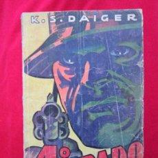 Cómics: 4º GRADO (CUARTO) K.S. DAIGER LA NOVELA AVENTURA SERIE DETECTIVESCA Nº 11 ED. HYMSA. Lote 105070459