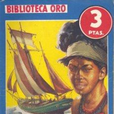 Cómics: BIBLIOTECA ORO Nº188. PERLAS Y SANGRE. REVET FOSCH. EDITORIAL MOLINO, 1975. ILUSTRACIONES OLIVARES. Lote 105364039