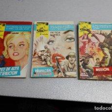 Cómics: COLECCIÓN CARRO BLINDADO / LOTE CON LOS NÚMEROS: 21, 23, 32 / FERMA 1960. Lote 105801563