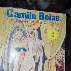Cómics: CAMILO BOLAS UN HAREN PARA CAMILO . Lote 107201883