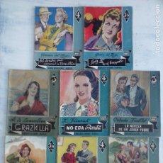 Cómics: COLECCION AZUL LOTE 8 NOVELAS - PRECIO DE NAVIDAD- CARLOTA M. BRAEMÉ, TERESA GUZMÁN,OCTAVIO FEUILLET. Lote 107832519