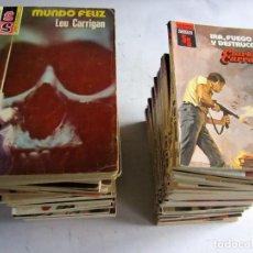 Cómics: SERVICIO SECRETO. LOTE DE 60 LIBROS ENTRE EL Nº 1427 Y EL Nº 1713. 1977-1983 BOLSILIBROS BRUGUERA. Lote 108448291