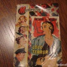 Cómics: METROPOLITAN POLICE N.42 ANTHONY G. MURPHY. Lote 108867027