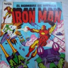 Fumetti: IRON MAN EL HOMBRE DE HIERRO Nº 1 FORUM. Lote 108969459