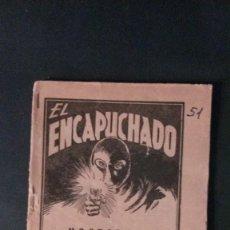 Cómics: EL ENCAPUCHADO Nº 51-NOSTALGIA-EDICIONES CLIPER-1949. Lote 109161455