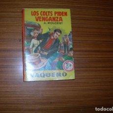 Cómics: VAQUERO Nº 101 EDITA BUGUERA. Lote 109396555