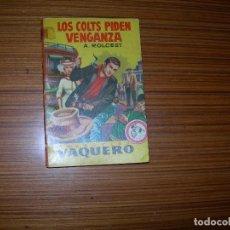 Cómics: VAQUERO Nº 101 EDITA BUGUERA. Lote 109396587