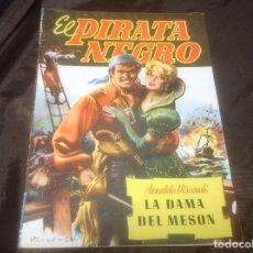Cómics: EL PIRATA NEGRO BRUGUERA NÚMERO 72 LA DAMA DEL MESON NUMEROS A LAPIZ EN LA CONTRAPORTADA. Lote 109520007