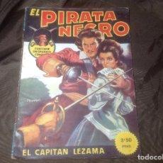 Cómics: EL PIRATA NEGRO BRUGUERA 28 EL CAPITÁN LEZAMA. Lote 109520607