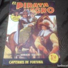 Cómics: EL PIRATA NEGRO BRUGUERA 77 CAPITANES DE FORTUNA. Lote 109520735
