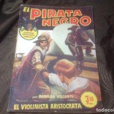 Cómics: EL PIRATA NEGRO BRUGUERA 78 EL VIOLINISTA ARISTÓCRATA. Lote 109520999