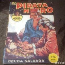 Cómics: EL PIRATA NEGRO BRUGUERA 22 DEUDA SALDADA. Lote 109521327