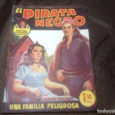 Cómics: EL PIRATA NEGRO BRUGUERA 71 UNA FAMILIA PELIGROSA. Lote 109522515
