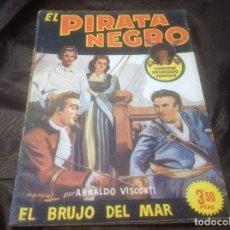 Cómics: EL PIRATA NEGRO BRUGUERA 80 EL BRUJO DEL MAR. Lote 109523367
