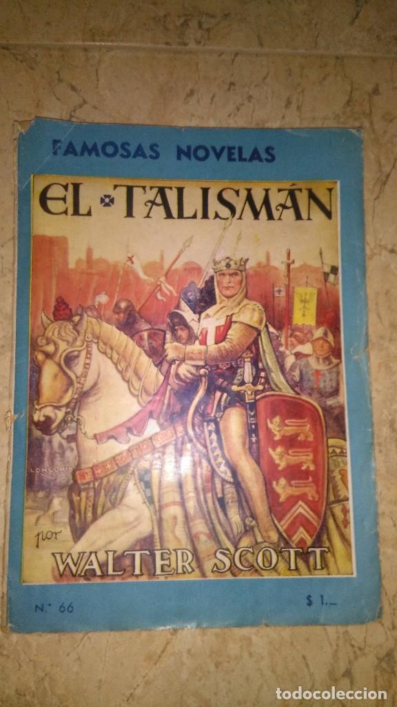 EL TALISMÁN POR WALTER SCOTT ,,, 1944 PRIMERA EDICIÓN (Tebeos, Comics y Pulp - Pulp)