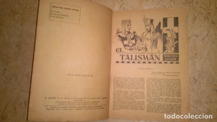Cómics: El talismán por Walter scott ,,, 1944 primera edición - Foto 13 - 109994019
