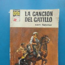 Cómics: ASES DEL OESTE Nº 378. LA CANCION DEL GATILLO. SAM FLETCHER. EDITORIAL BRUGUERA. Lote 110114251