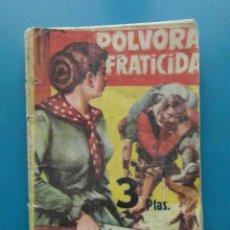 Cómics: POLVORA FRATICIDA. COLECCION SALVAJE OESTE Nº 79.FERMA. RICHARD WIDMARK. DESAFIO EN LA CIUDAD MUERTA. Lote 110130283