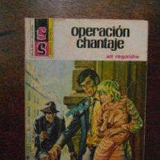 Cómics: OPERACION CHANTAJE. COLECCION SERVICIO SECRETO Nº 1335. EDITORIAL BRUGUERA. ALF REGALDIE 1976. Lote 110837043