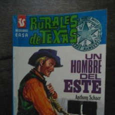 Cómics: UN HOMBRE DEL ESTE. RURALES DE TEXAS. ANTHONY SCHAER. BOLSILIBROS EASA. 1977. EDITORIAL ANDINA. Lote 110837735